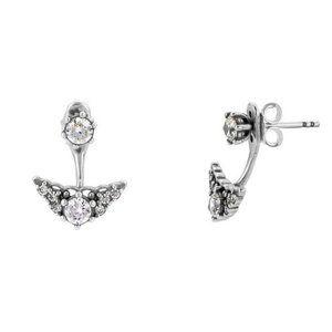 🔥Pandora🔥Fairytale Tiara Stud Earrings